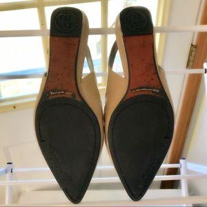 9d7d7aa5fe2 Sam Edelman Shoes - Sam Edelman Raya Pointed Toe Slingback Flats Nude
